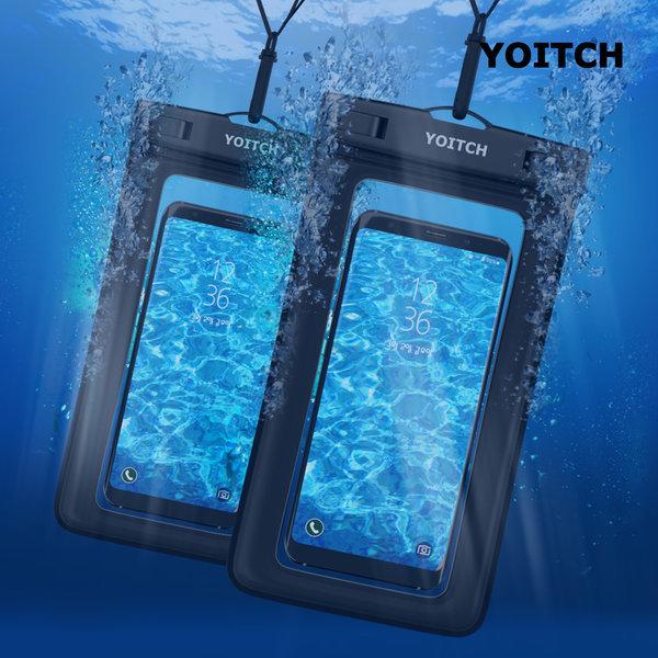 1+1 블랙 핸드폰 휴대폰 방수팩 레릭 블랙+블랙 상품이미지