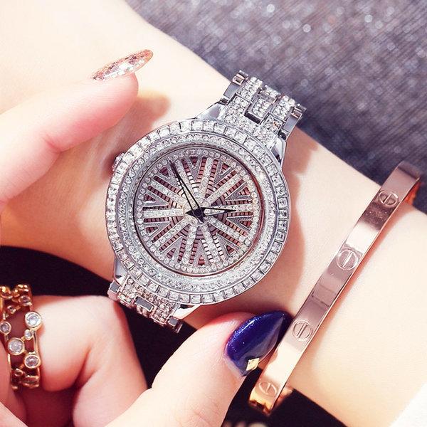 시계 워치 여성 패션 메탈 전자 선물 (K 스타일) 상품이미지