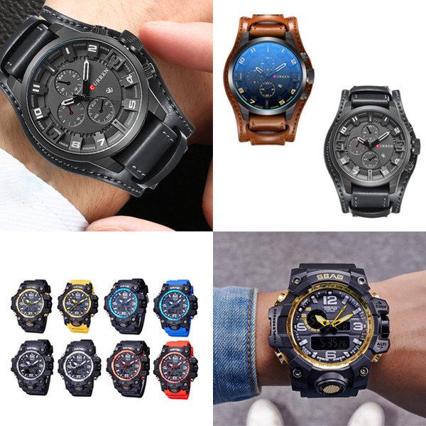 스포츠 손목 시계 전자 패션 남성 남자 아동 군인 상품이미지