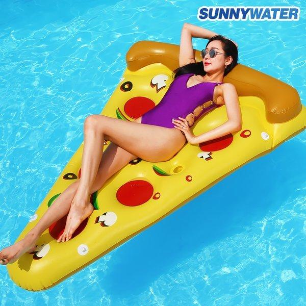 써니워터 특대형 피자 튜브/보트/풀장/물놀이튜브/물놀이용품/수영용품 상품이미지