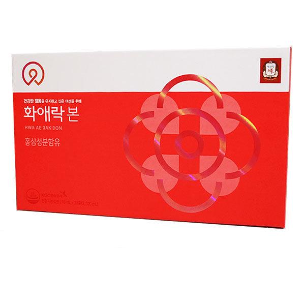 정관장 화애락본 및 한국인삼공사 화애락플러스 상품이미지