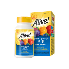 얼라이브 멀티비타민 포 맨 60정 1병