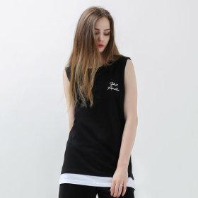 Layered/Sleeveless/T-Shirts/Sleeveless T-Shirt/GN-3N08