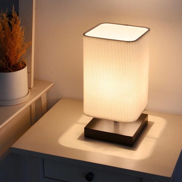 멜팅 단스탠드 (블랙) + LED램프 전구색 상품이미지