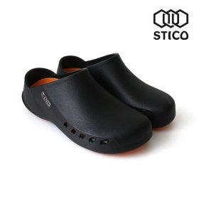 스티코 NEC-02H 230mm 블랙 미끄럼방지 논슬립 조리화