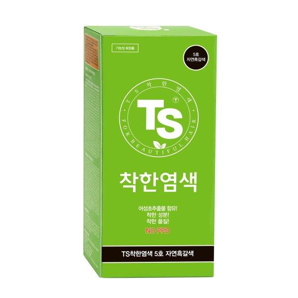 (TS트릴리온) TS 착한염색 120g (자연 흑색) 외 5종 상품이미지