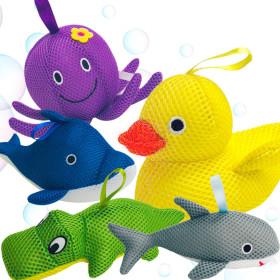 동물 목욕스펀지 (목욕타올)