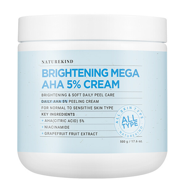 아하 5% 크림 500g 대용량/피부스케일링+얼굴각질제거 상품이미지