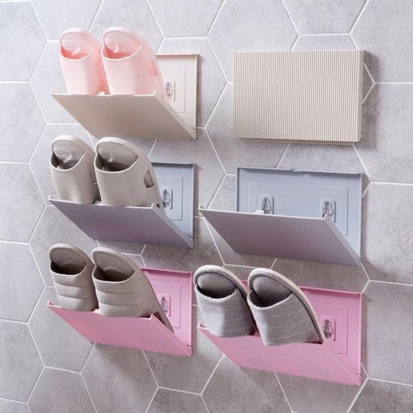 폴딩 욕실화 실내화 슬리퍼 걸이 슈즈랙 신발장정리대 상품이미지