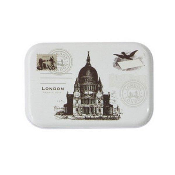 당일출고 미니 틴 박스-런던 소품 정리 박스 스틸 정 상품이미지