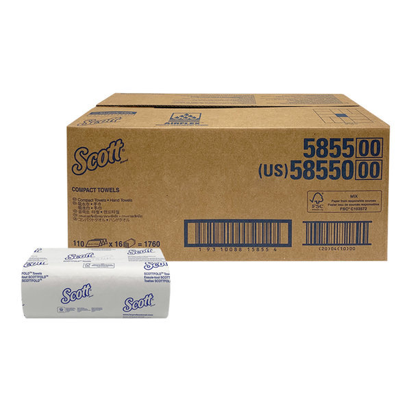 47163 스카트 콤팩트 핸드타올 110매x16밴드 상품이미지