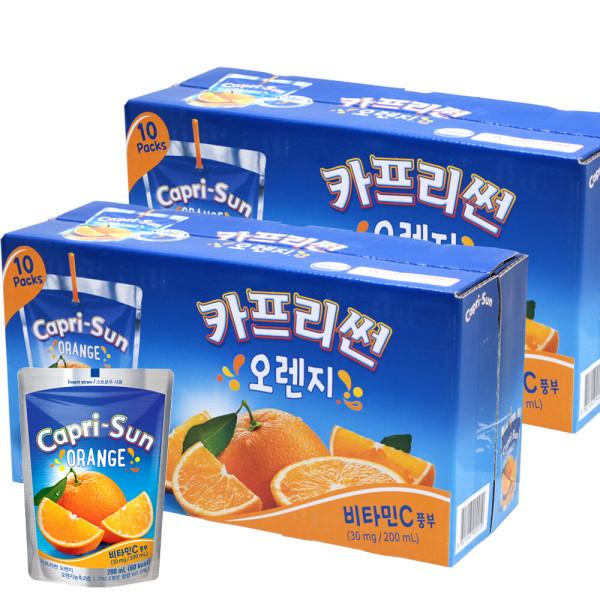 카프리썬 200mlx20개/오렌지/사과/사파리/망고 외 6종 상품이미지