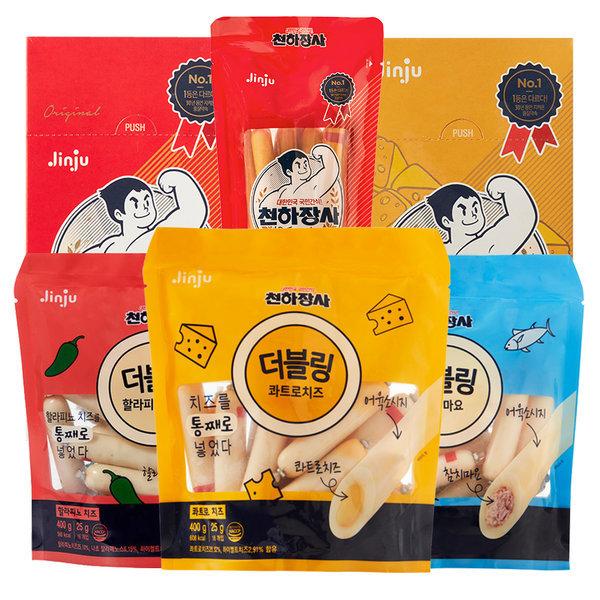 진주햄 천하장사 인기상품모음/더블링/소세지/소시지 상품이미지