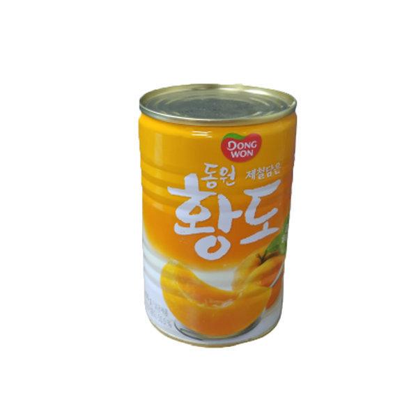 동원 복숭아 황도슬라이스 과일캔 400g 상품이미지