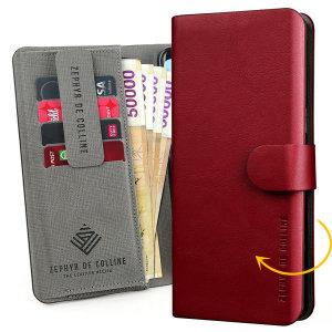 [레드울프]매직슬림 엣지곡면성형 지폐수납 지갑형 핸드폰케이스