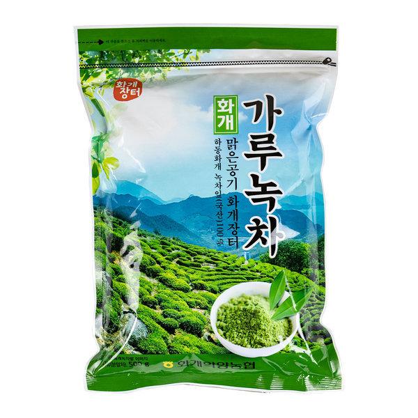 화개농협 가루녹차 500g/초미세 녹차가루분말 상품이미지