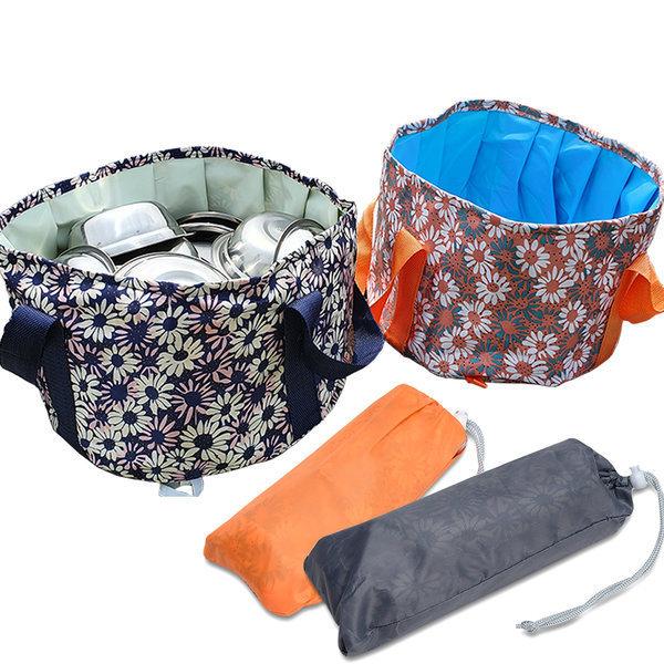 캠핑용 설거지통 멀티 버킷백 접이식 물통 설겆이통 상품이미지