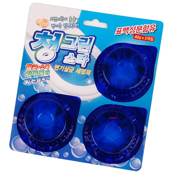 변기세정제 청그린 변기청소 변기세척 변기세정 살균 상품이미지
