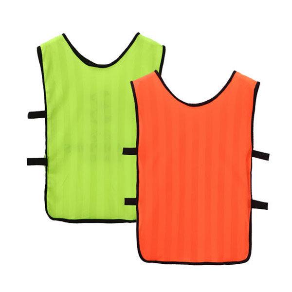 지아이엘  축구훈련복 단체조끼 중형 옐로우/오렌지 상품이미지