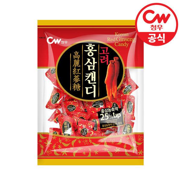 청우 고려홍삼캔디 300g/사탕/과자/간식/홍삼사탕 상품이미지