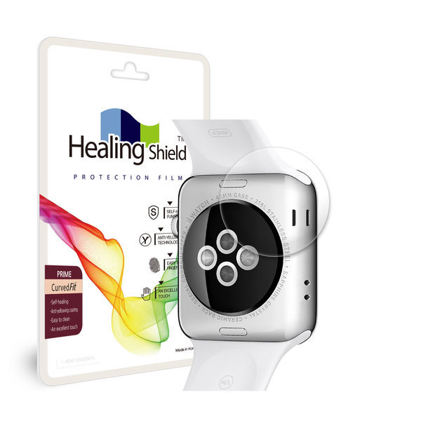 애플워치3 LTE 38mm 심박센서 고광택 액정보호필름3매 상품이미지