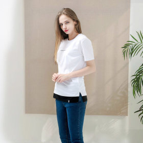 Layered/Short-Sleeve T-Shirt/Short-Sleeve Tee/GT-3131