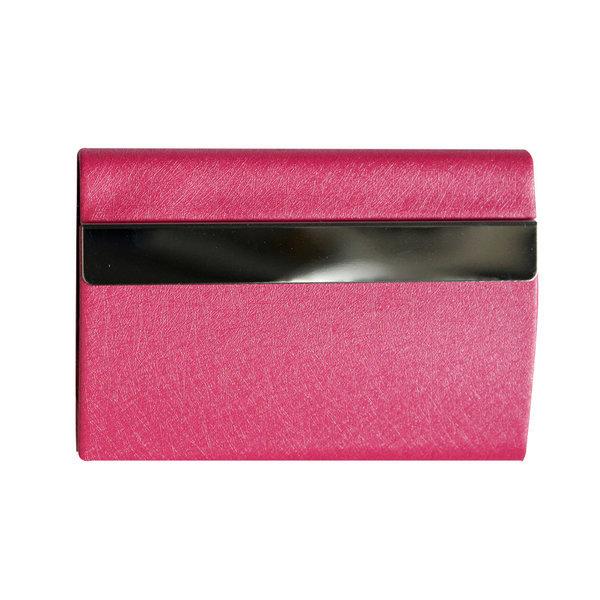 VIC양면 명함케이스-핑크/명함집/명함지갑/명함보관 상품이미지