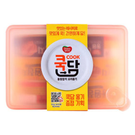 동원_살코기마일드참치쿡담기획_100Gx4+100Gx2