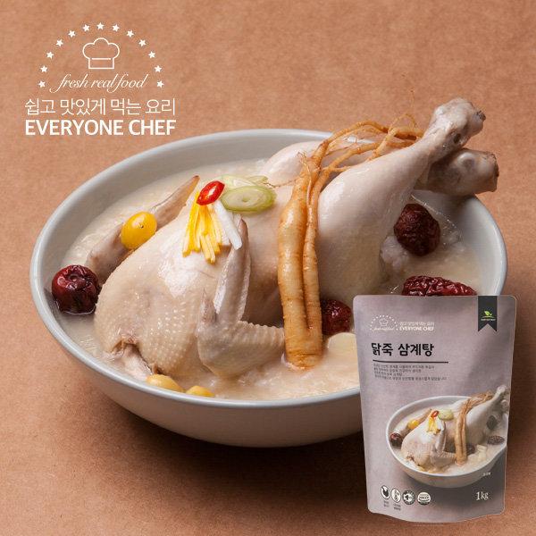에브리원셰프 닭죽 삼계탕 1kg 상품이미지