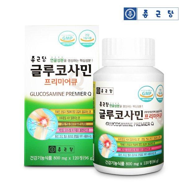 종근당 글루코사민 프리미어큐 120정 1통(단품) 상품이미지