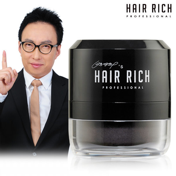 흑채 헤어쿠션/퍼프 흑색 상품이미지