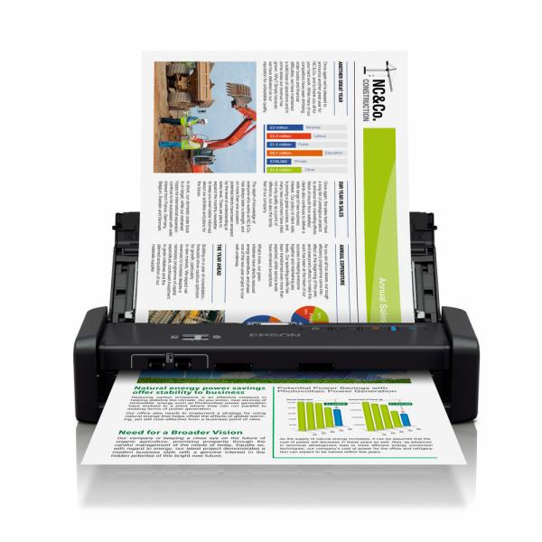 엡손 DS-360W 휴대용스캐너 무선지원 핸디형스캐너 상품이미지