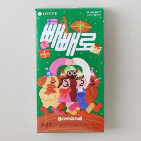 (2+1)롯데_빼빼로아몬드_37G