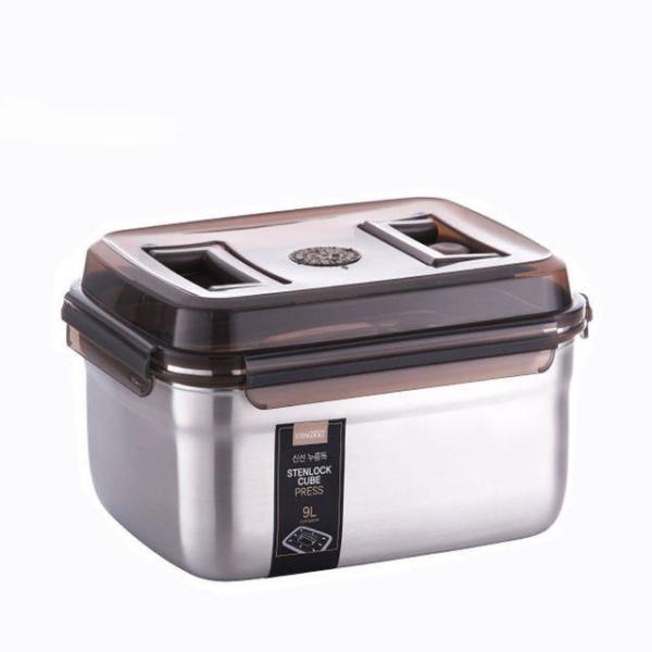 밀폐용기 김치보관용기 김치통 초코 3.3L 월드 상품이미지