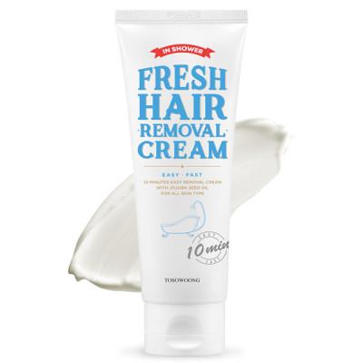 1+1 Fresh hair removal cream/bikini line+armpit+leg hair removal