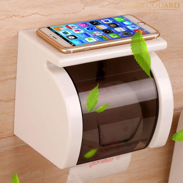 매직 수납형 접착식 화장실 욕실(방수휴지걸이) 상품이미지