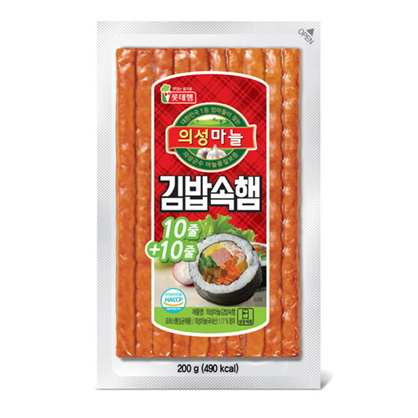 롯데푸드  의성마늘 김밥속햄 200g 상품이미지