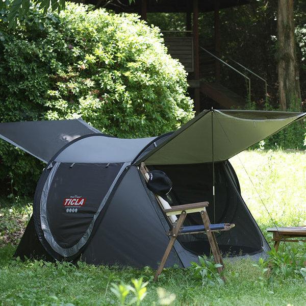 티클라 원터치텐트(3~4인용)-캠핑 자동 오토 팝업텐트 상품이미지