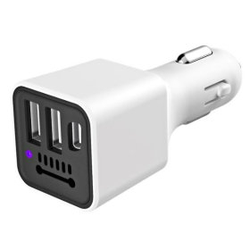 2in1 차량용 USB 공기청정기 미세먼지제거 / 화이트