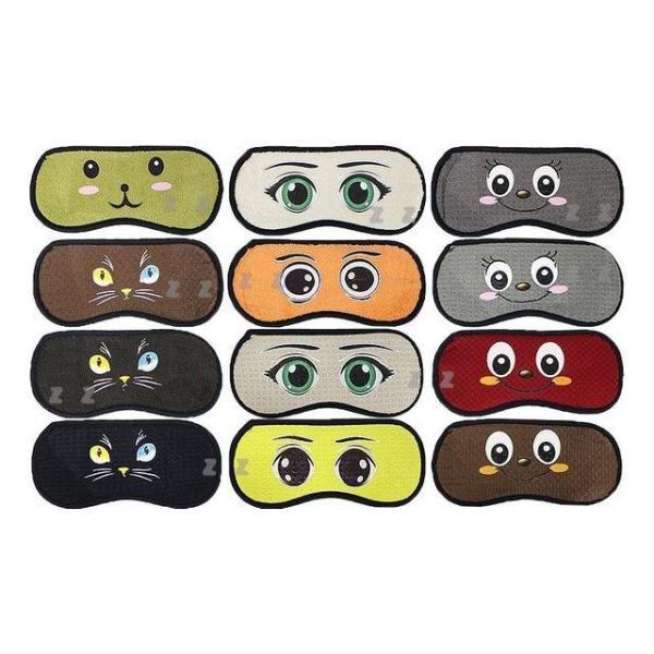 캐릭터 컬러 수면안대 24종 랜덤발송 눈가리개 상품이미지
