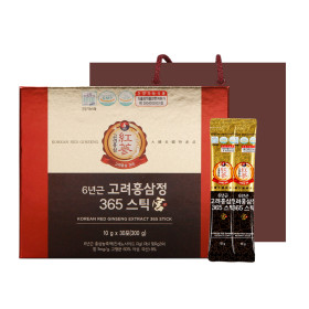 6-year-old Korean Red Ginseng Extract 365 Stick Goong recommended for women