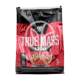 트루매스 1200 딸기 밀크 쉐이크 탄수화물 프로틴 15 서빙 단백질 보충제 4.7 kg