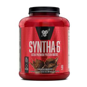 신타6 오리지널 초콜릿 밀크쉐이크 웨이 프로틴 48 서빙 유청 단백질 보충제 2.27 kg