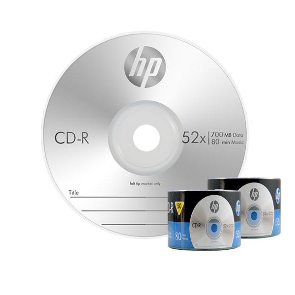 HP 정품 CD-R/DVD-R 100장벌크/공CD/공시디/공dvd 상품이미지