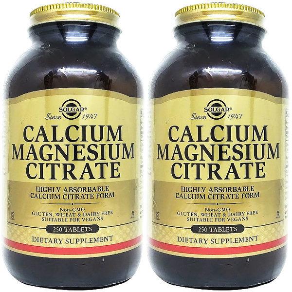 2병 솔가 Calcium 칼슘 마그네슘 시트레이트 250탭 상품이미지
