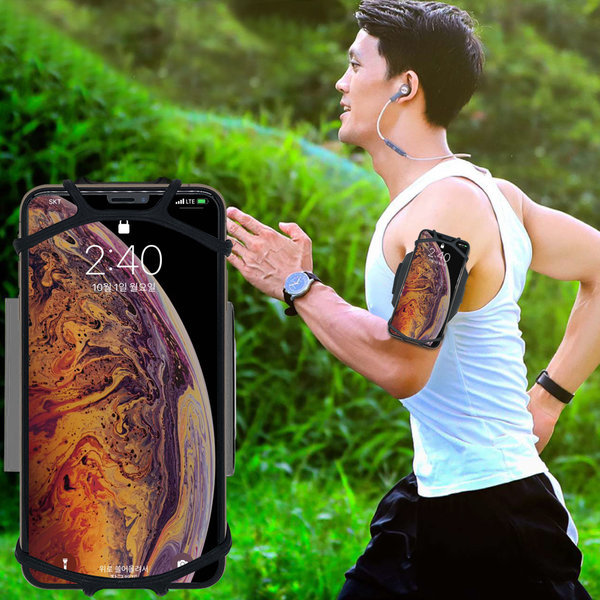 코비 360도 회전 휴대폰 암밴드 S9 노트8 아이폰 상품이미지