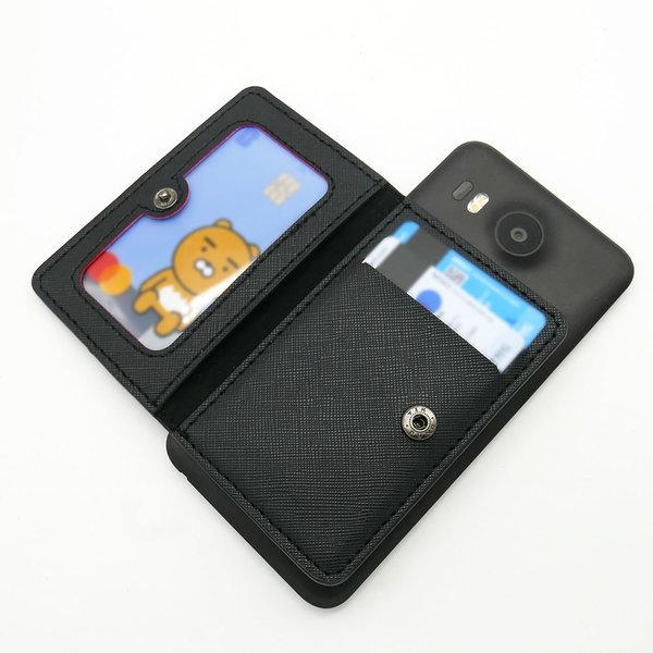 휴대폰 카드지갑 핸드폰 케이스 부착형 양면형 상품이미지