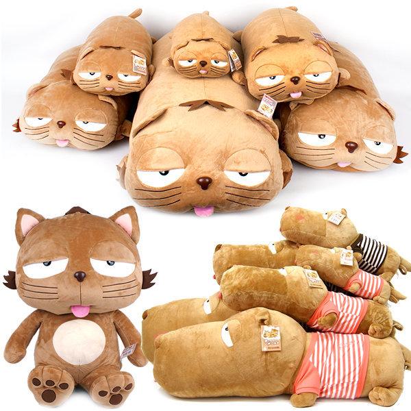딩가인형 중 25cm 고양이 푸코 애착 동물 인형 상품이미지