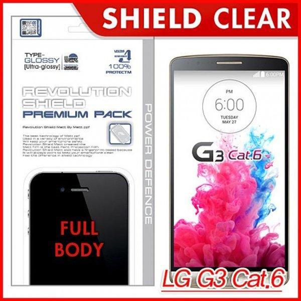 LG G3 Cat.6 레볼루션쉴드 프리미엄팩 전신필름 G3캣 상품이미지