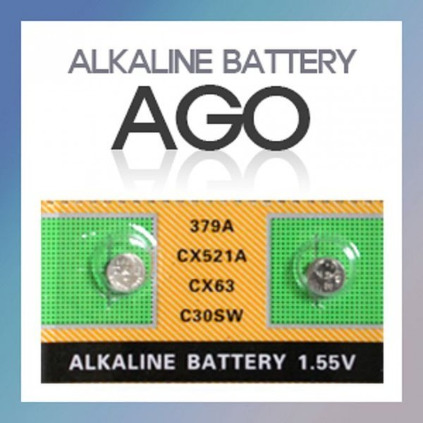 AG0(10알) 알카라인건전지 호환가능 SR521SW LR69 37 상품이미지